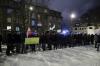Protest pod domem Donalda Tuska