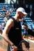 Marcin Gortat z rakietą tenisową