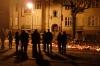 Ludzie na Armii Krajowej 55 w nocy