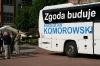 Autokar wyborczy Komorowskiego