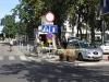 Telewizja Polska przed hotelem Sheraton