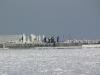 Zamarznięta Zatoka Gdańska - Budowa Mariny 5