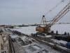 Zamarznięta Zatoka Gdańska - Budowa Mariny 8